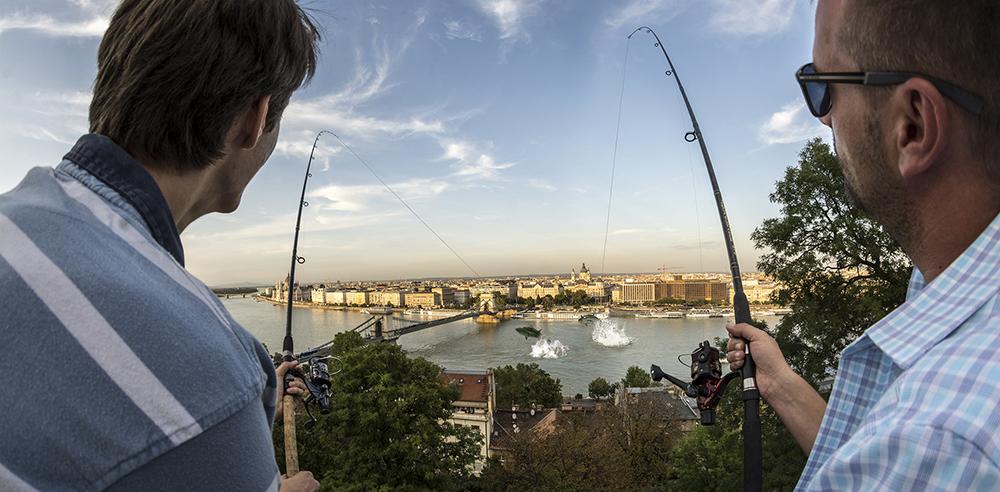 Horgászat a Budai várból? Nem probléma!