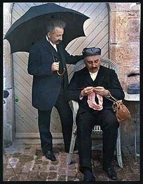 Auguste és Louis Lumière. Autochrome, 1909