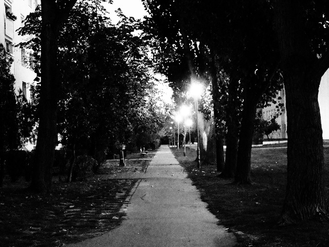 Az agorafóbiás sétálni indul