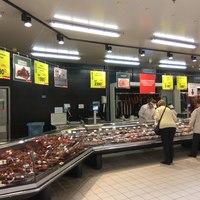 Bianka, Dia és Lili már az Auchanban