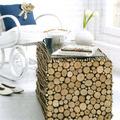 Fából  asztalka