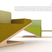 Asztalt rejtő kanapé