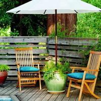 Napi inspiráció: kaspóból napernyőtartó