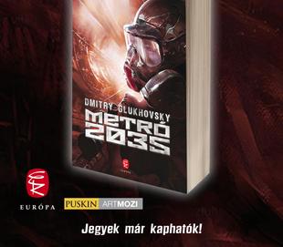 Nyerd meg a Metró 2035 c. könyvet!