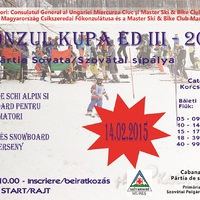 Kupa Konzul la schi alpin  Ed III 14 februarie 2015 Sovata