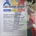 Selectie prin programul START CAMPIONI LA TRIATLON