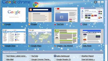 Élesek az új Chrome témák.