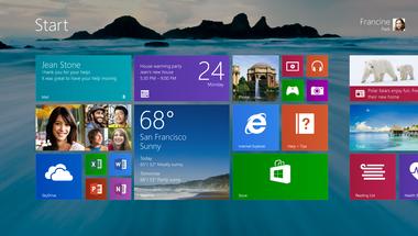 Személytelen Windows 8 csempék
