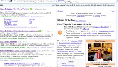 Az első működő extension Google Chrome-ban