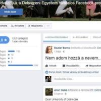 Eljárást indított az Egyenlő Bánásmód Hatóság a Debreceni Egyetem ellen