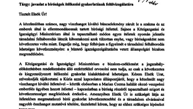 Navracsics Tibor levelét megírta