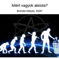 Miért vagyok ateista? (a blog szerzőjének új könyve)