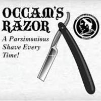 Miért is van szükségünk Occam borotvájára?