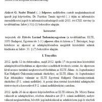 Beperelték az ELTE-t az átlátható HÖK-ért