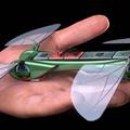 Repül és lebeg a robotszitakötő