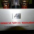 Edison arcképe ezüst érmén - Audio note Conquest silver Signature