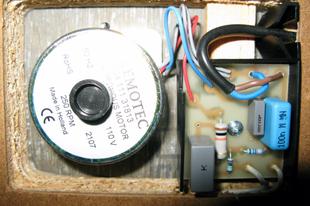 "AC ""vellám"" DC – Origin Live DC motor kit"