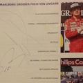 Forma-1: Senna és Prost autogramja együtt!