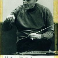 Ferencsik János (1907-1984) dedikált fényképe