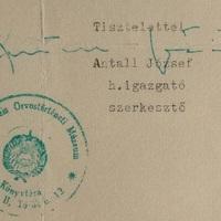 Antall József (1932-1993) aláírásai