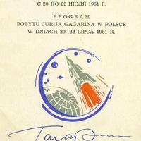 Autogram Jurij Gagarintól