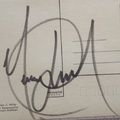 Michael Jackson (1958-2009) autogramja 1994-ből