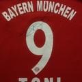Bayern München autogramok Győrből 2013-ból