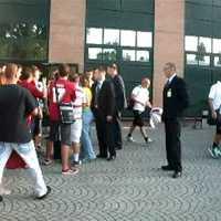 Budapesten játszott az AS Roma csapata