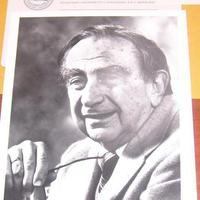 Teller Ede (1908-2003) dedikált fotója