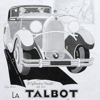 Gyors esőcsepp - Talbot-Lago