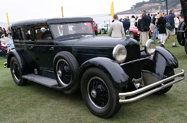 1927 Duesenberg Model X Locke Sedan