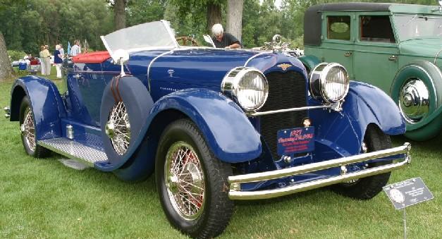 1927 Duesenberg Model X McFarlan Boat-tail Speedster