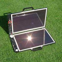 Laptop akkumulátorok töltése napenergiával