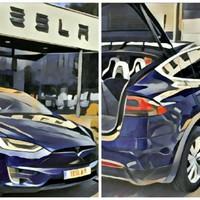 Hiperugrás egy űrcirkálóval – Tesla Model X próbaút