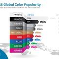 Legnépszerűbb autós színek 2015-ben: érdemes ebből bármilyen következtetést levonni?