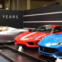 Az Autoworld kiállítása a 70 éves Ferrari tiszteletére