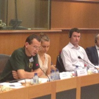 European Parliament hearing about the criminalization of homelessness