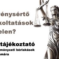 Törvénysértő kilakoltatások Pécelen? Jogi tájékoztató az önkormányzati bérlakások lakói számára