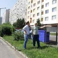 Zöldövezetes panelrengeteg a város közepén