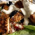 Görög csirke steak görög salátával és fetás öntettel