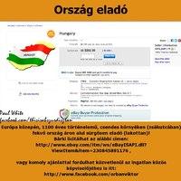 Elő a lóvét a dunyhából: Magyarország eladó az eBay-en