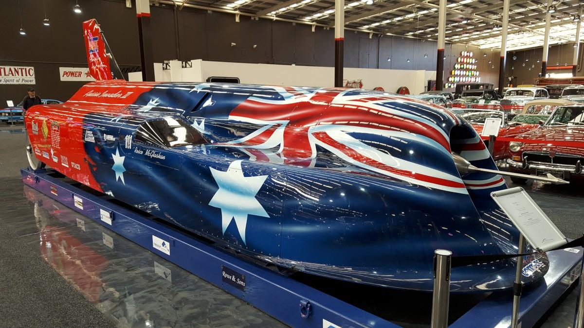 A legyorsabb ausztrál autó