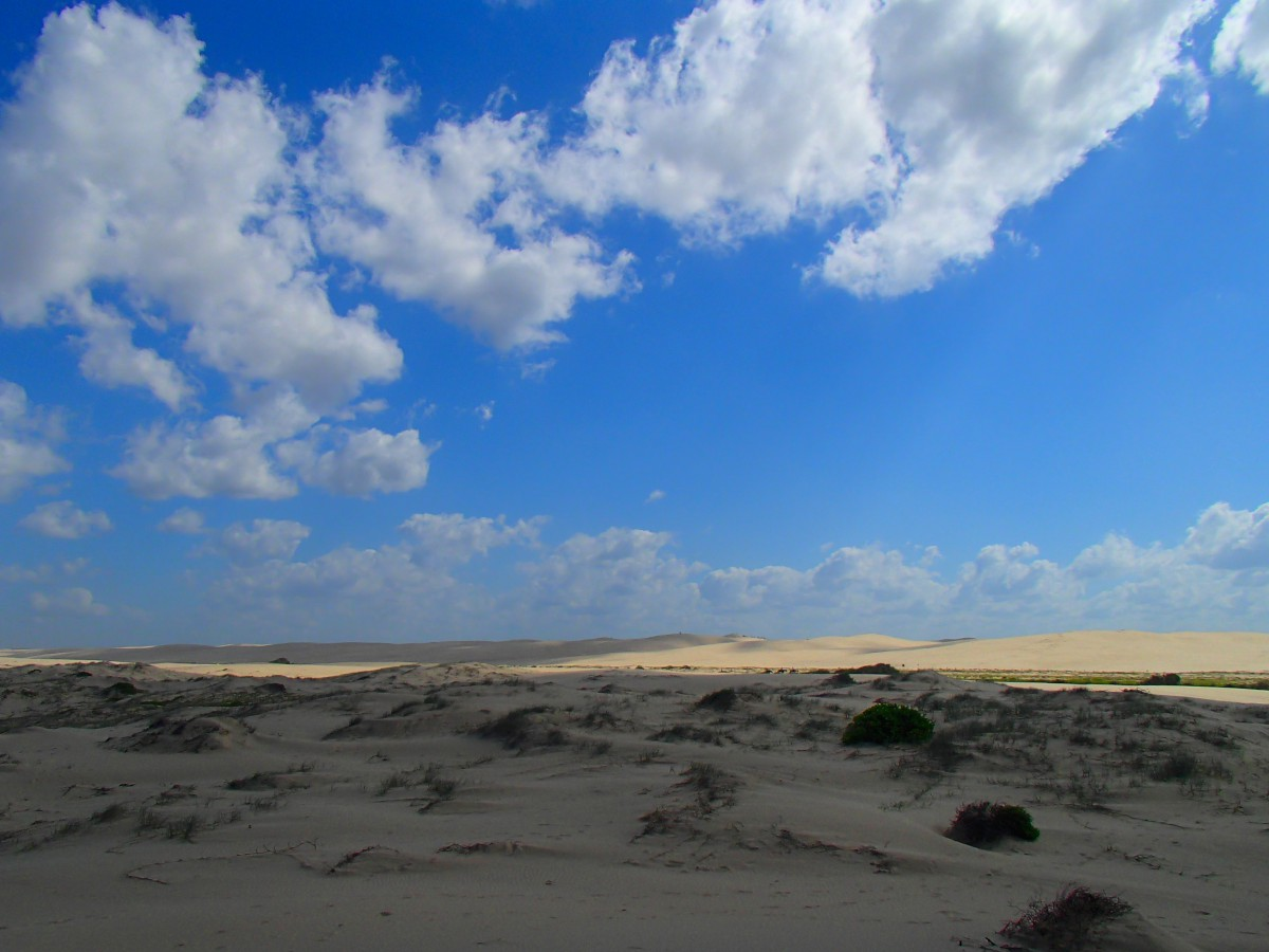 Van ám itt sivatagi homokdűne is