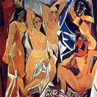 Pablo Picasso- Avignoni kisasszonyok