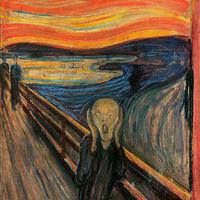 Edward Munch - Sikoly (Hallom a természet sikolyát) /1893/