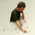 Művészi rajz a művészről