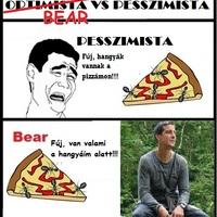 Pesszimista VS Bear Grylls
