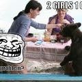 2 girls 1...