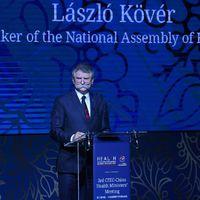 Kövér László világszínvonalú magyar egészségügyről beszél