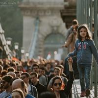 Nem a CEU-t, hanem Orbánt kell bezárni - a Lánchídon áthaladó tüntetők legütősebb üzenetei